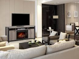 electric fireplace media consoles convenient form and function