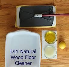 diy wood floor cleaner