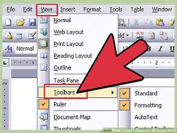 7 Ways To Add Toolbars To Microsoft Word Wikihow