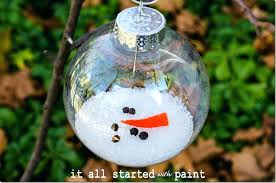 glass ornament crafts melted snowman ornament 2 glass ornament crafts for glass ornament crafts