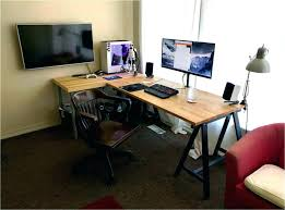 dual desks home office. dual office desk modular furniture watson fusion worksttion pertaining to workstation prepare home desks