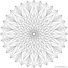 Best Of Printable Geometric Coloring Pages Pictures Geometric