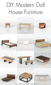 <b>DIY</b> Modern <b>Doll House Furniture</b> - The Created Home