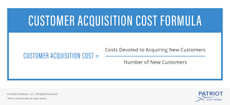 customer acquisition cost customer acquisition cost visual
