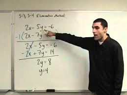 solving systems adding and subtracting elimination
