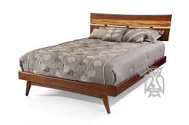 solid bamboo wood azara bed in sable tiger exotic finish choose queen or bamboo wood furniture