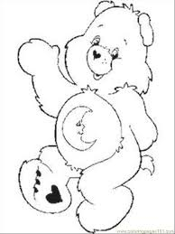 Small Picture Care Bear Coloring Pages 1 Coloring Page Free Care Bears