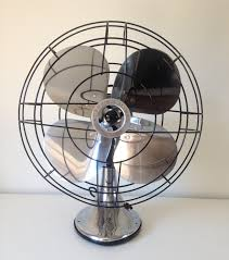 antique robbins myers desk fan polished and rewired robbin myers