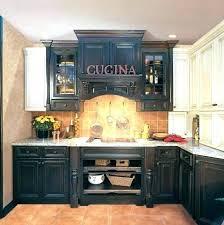 antique black kitchen cabinets. Modren Black Enchanting  On Antique Black Kitchen Cabinets T