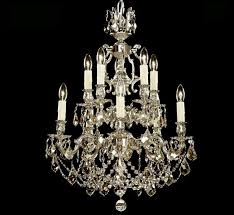 rosetta collection 5 5 light large brass crystal chandelier