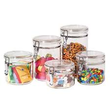 Clear Kitchen Canisters