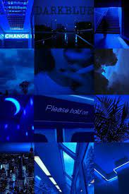 Aesthetic Dark Blue Wallpapers on ...