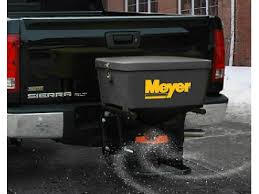 meyer base line hitch mounted salt spreader hitch mount bl meyer base line salt spreader bl 240 is ultra compact