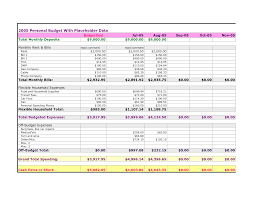Personal Monthly Budget Spreadsheet Personal Monthly Expenses Spreadsheet Budget India Spending Weekly