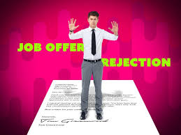 Rejecting An Offer Letter Job Offer Rejection Letter Monster Com