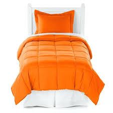 comforter twin xl orange grey marble