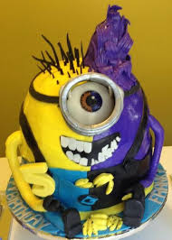 Good Minion Evil Minion Cake Itscakez Birthday Cake Cake Boy
