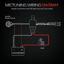 Wiring Diagram For Led Light Bar With Switch Wiring