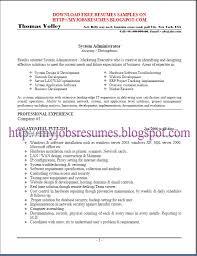 ... Linux System Administration Sample Resume 8 Doc System Administrator  Resume Template Systems Admin Linux Administrator Job ...