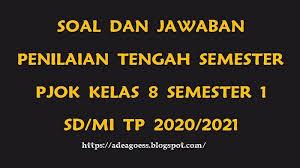 Soal dan jawaban penjaskes smk. Download Soal Usbn Pjok Smp 2019 Jakarta Soalsiswa Com