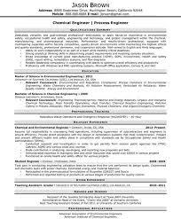 Engineering Resume Examples Resume Professional Writers