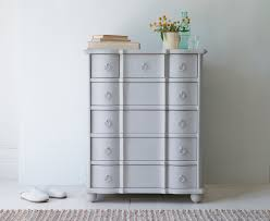 Large Bedroom Chest Of Drawers Otterley Chest Of Drawers In Scuffed Grey Loaf
