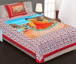 king size bed sheet double bed king size bed sheet with 2 pillow covers at rs 550 piece