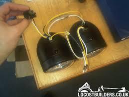 dominator headlight wiring