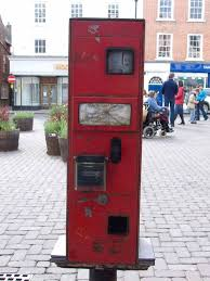 Stamp Vending Machine Location Mesmerizing FilePostage Stamp Vending Machine Ludlow Geographorguk