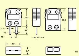 high temperature miniature thermocouple connectors omega shx mini ceramic thermocouple connector dimensions