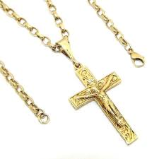 all of our items comply with uk hallmarking legislation this is a nicely crafted 9ct gold crucifix pendant