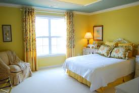 Blue Yellow White Bedroom Decor  Interior Design IdeasYellow Room Design Ideas