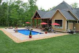 swimming pool patio design ideas and