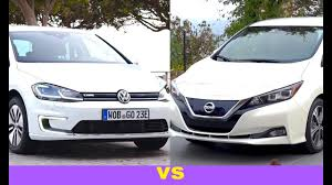 2018 volkswagen e golf range. delighful range 2018 volkswagen e golf vs nissan leaf  vw  for volkswagen golf range
