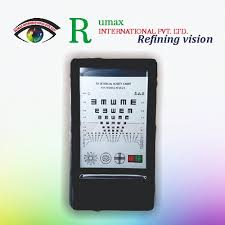 Led Optical Visual Chart Lamp House Optometry Tester Mini Vision Chart 12 Inches