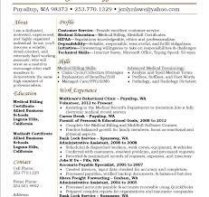 Medical Billing Resume Sample Free Medical Billing And Coding Resume Berathen Com Samples 20