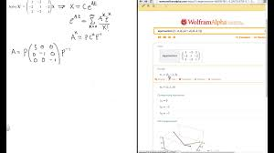 solve the system of diffeial equations