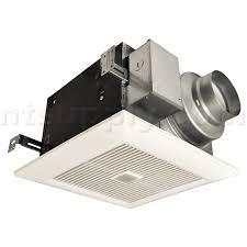 sensing bathroom fan quiet: panasonic whispersense bathroom fan with motion amp humidity sensors fv vqc