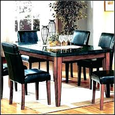 granite round dining table room set malaysia