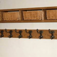 Coat Rack With Storage Baskets Coat Hooks With Storage waitingshare 14