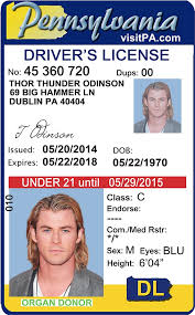 Under Drivers Idviking Pennsylvania pa Best Id - 21 Old Ids License Fake Scannable