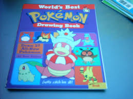 pokemon drawing book 2 by names tailz