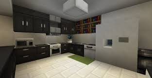 Minecraft Modern Kitchen Modern Kitchen Minecraft Pinterest Modern Modern Kitchens