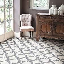 Patterned Linoleum Flooring Enchanting Mardi Gras Sagres Grey Patterned Vinyl Flooring Carpetright