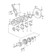 porsche 944 parts crankshaft connecting rod