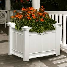 Large Wooden Boxes To Decorate Garden Decor Inspiring Small Garden Decoration With White Wooden 87
