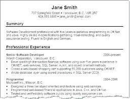 Example Of A Good Resume – Resume Tutorial