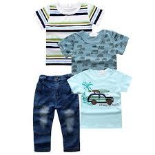 <b>4pcs set</b> Jeans <b>Sets For</b> Kids Boys Baby clothes chlildren boy ...