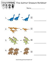 Dinosaur Worksheets For Kindergarten Dinosaur Preschool Printables
