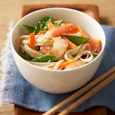 Asian Sesame Noodles with Shrimp Recipe ...